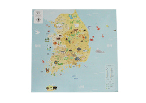 KOREA MAP_ver. KIDS-BLUE