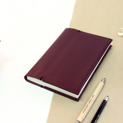 LEATHER DIARY ver. BURGUNDY