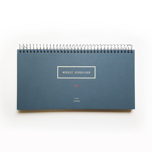 WEEKLY SCHEDULER(S) NAVY