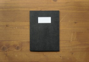 PLAIN NOTEBOOK(M)_black