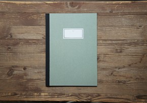 STITCH NOTEBOOK(L)_light green
