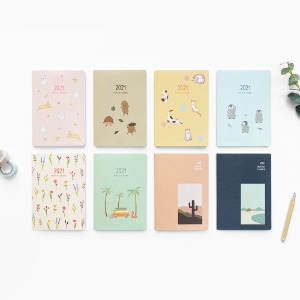 2021 MONTHLY PLANNER 먼슬리 플래너