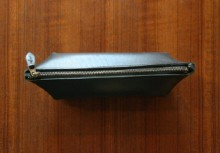 LEATHER PENCIL CASE_black