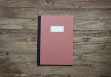 STITCH NOTEBOOK(M)_red