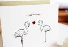 MESSAGE CARD_I LOVE ONLY YOU