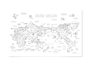 DRAWING WORLD MAP
